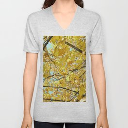 mellow yellow Unisex V-Neck