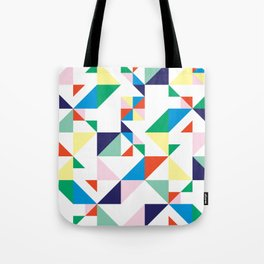 Confetti In a Grid Tote Bag