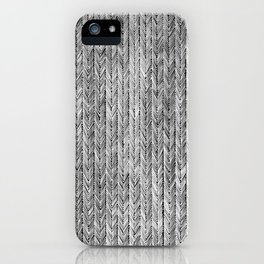 Ink Weaves: Grey Opal iPhone Case