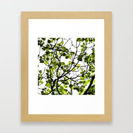 LITTLE GREEN Framed Art Print