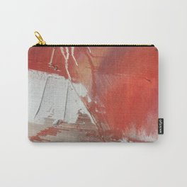 California Sun: a minimal, abstract piece in reds and gold by Alyssa Hamilton Art Carry-All Pouch
