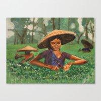 vietnam Canvas Prints featuring Vietnam  by JenD.esigns
