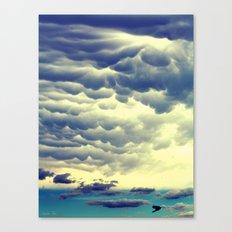 Mammatus Clouds II Canvas Print