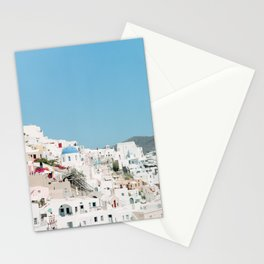 Fira, Santorini, Greece Stationery Cards