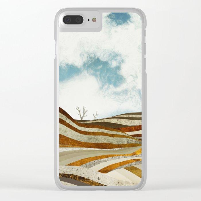 Desert Calm Clear iPhone Case
