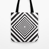 square Tote Bags featuring Square by Vadeco
