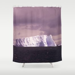 iceberg adrift Shower Curtain