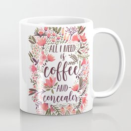 Coffee & Concealer – Vintage Palette Coffee Mug
