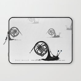 Just moved.  (French Horn) Laptop Sleeve