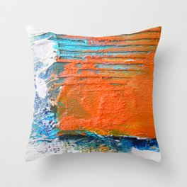 COLOUR · SHAPE · DEPTH Throw Pillow