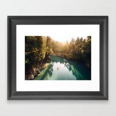 Hokitika Gorge Framed Art Print