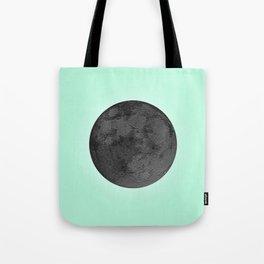 BLACK MOON + TEAL SKY Tote Bag