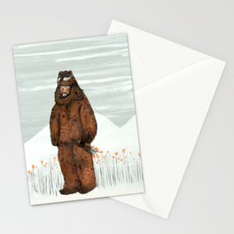 Wilder Mann - The Bear Stationery Cards