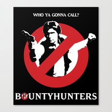 Bountyhunters Canvas Print