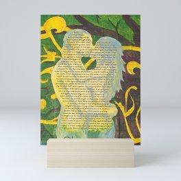 Split Aparts Detail 2 Mini Art Print