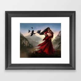 Beyond Neith Framed Art Print