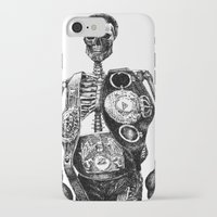 mike wrobel iPhone & iPod Cases featuring Mike Tyson by Motohiro NEZU