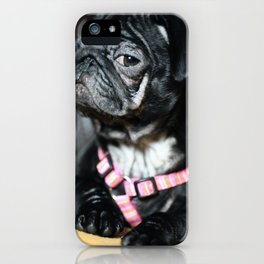 Mops iPhone Case