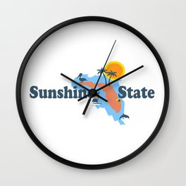 Florida. Wall Clock