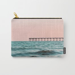 Beach Pier Sunrise Carry-All Pouch