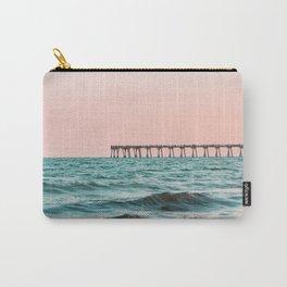 Beach Pier Sunrise Carry-All Pouch