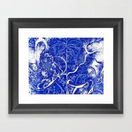 Denim Comfort Framed Art Print