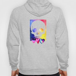 Colorful Skull for Day of Dead Halloween Design Hoody