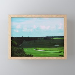 Golf Game Goals Framed Mini Art Print