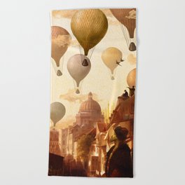 Voyage to the Unkown Beach Towel