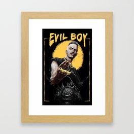 Ninja - Evil Boy Framed Art Print