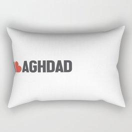 I love Baghdad Rectangular Pillow