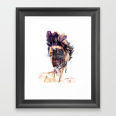 Dark Beauty Framed Art Print