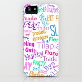 The Gay Thought Bubble iPhone Case