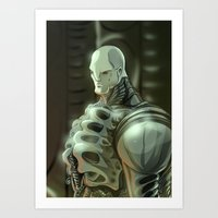 prometheus Art Prints featuring Prometheus by Kaan Demircelik