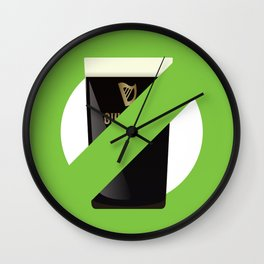 St. Patrick's Day is cancelled Wall Clock