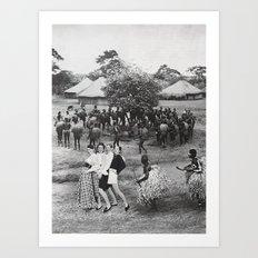 Jambo's Mambo Art Print