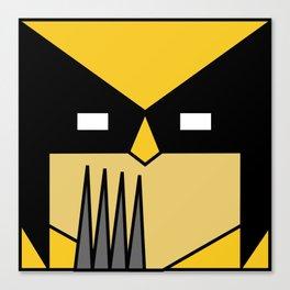 Minimal Wolverine Canvas Print