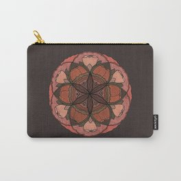 SACRED FLORAL Carry-All Pouch