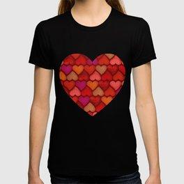 Love Pattern T-shirt