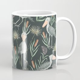 The Magnificent Shoebill Pattern Coffee Mug