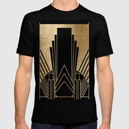 Art deco design T-shirt