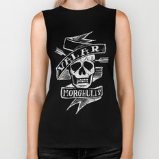 all men must die Biker Tank