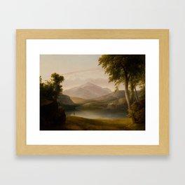 In the Catskills , Thomas Doughty, 1793 - 1856 Framed Art Print