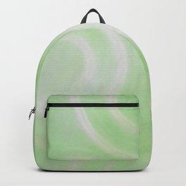 Green Swirlies Backpack
