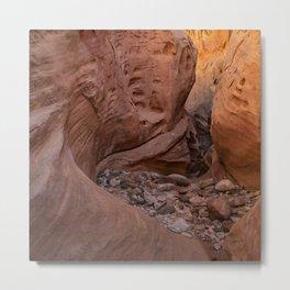 Little_Wild_Horse_Canyon 0076 - Utah Metal Print