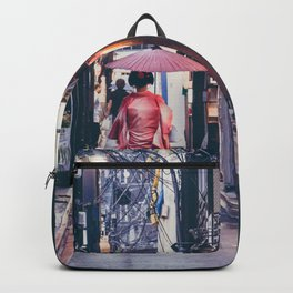Geisha In Kyoto Backpack