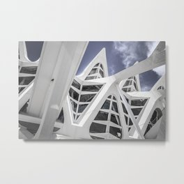 Chromosome Forest Metal Print