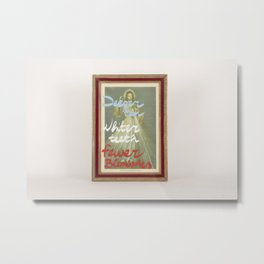 Decree of God Metal Print