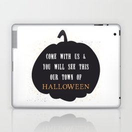 This our town of Halloween Laptop & iPad Skin