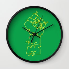 Re-Volt Wall Clock
